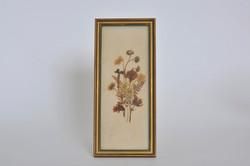 9. quadro con fiori secchi