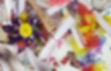 2014, tecnica mista su carta, 40x40cm