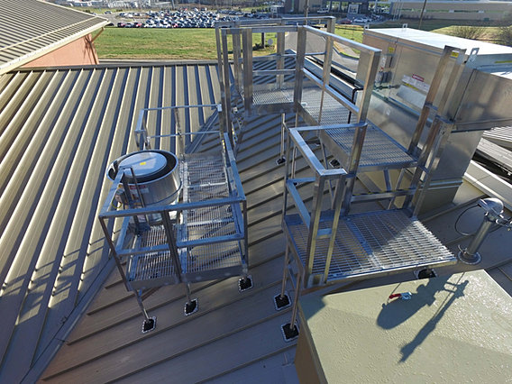 Prsp Roof Platforms For Sloped Or Pitched Roofs