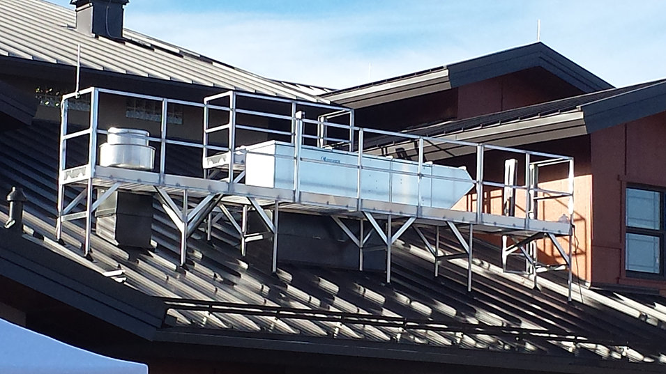 Pitched Roof Service Platforms
