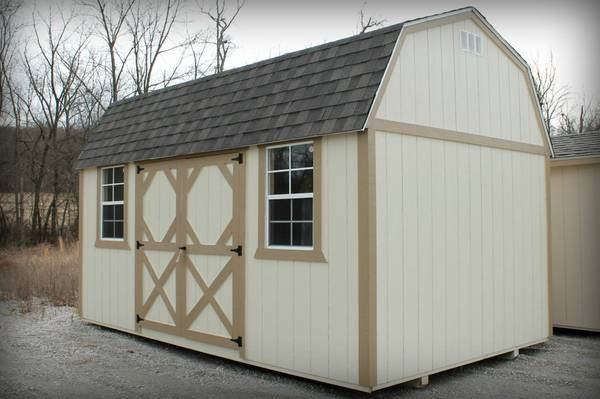 Side-Lofted Barn 10 x 16 Customized