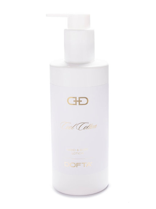 White & Gold - Hand & Body Lotion - Cool Cotton