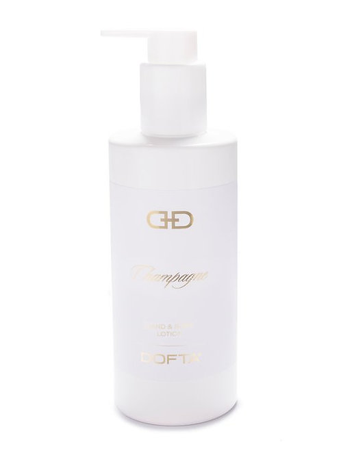 White & Gold - Hand & Body Lotion - Champagne
