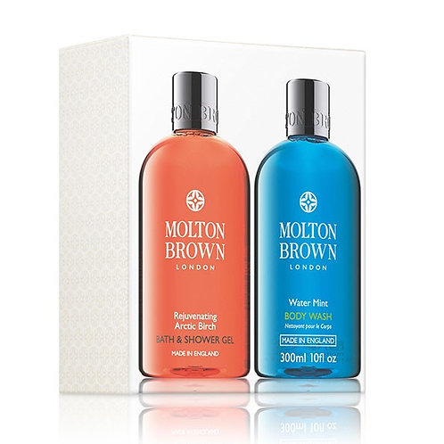 Rejeuvenating Arctic Birch & Water Mint Bath & Shower Gel Set