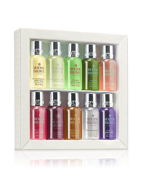 Molton Brown signature scents mini body wash collection