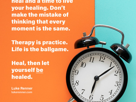 Live Your Healing!