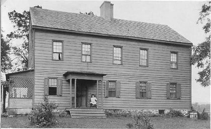 Rockingham house original site circa 1890