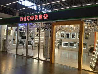 Салон Decorro открылся в ЭкоДоме!