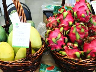 Райские фрукты из солнечного Вьетнама каждые выходные на Экорынке