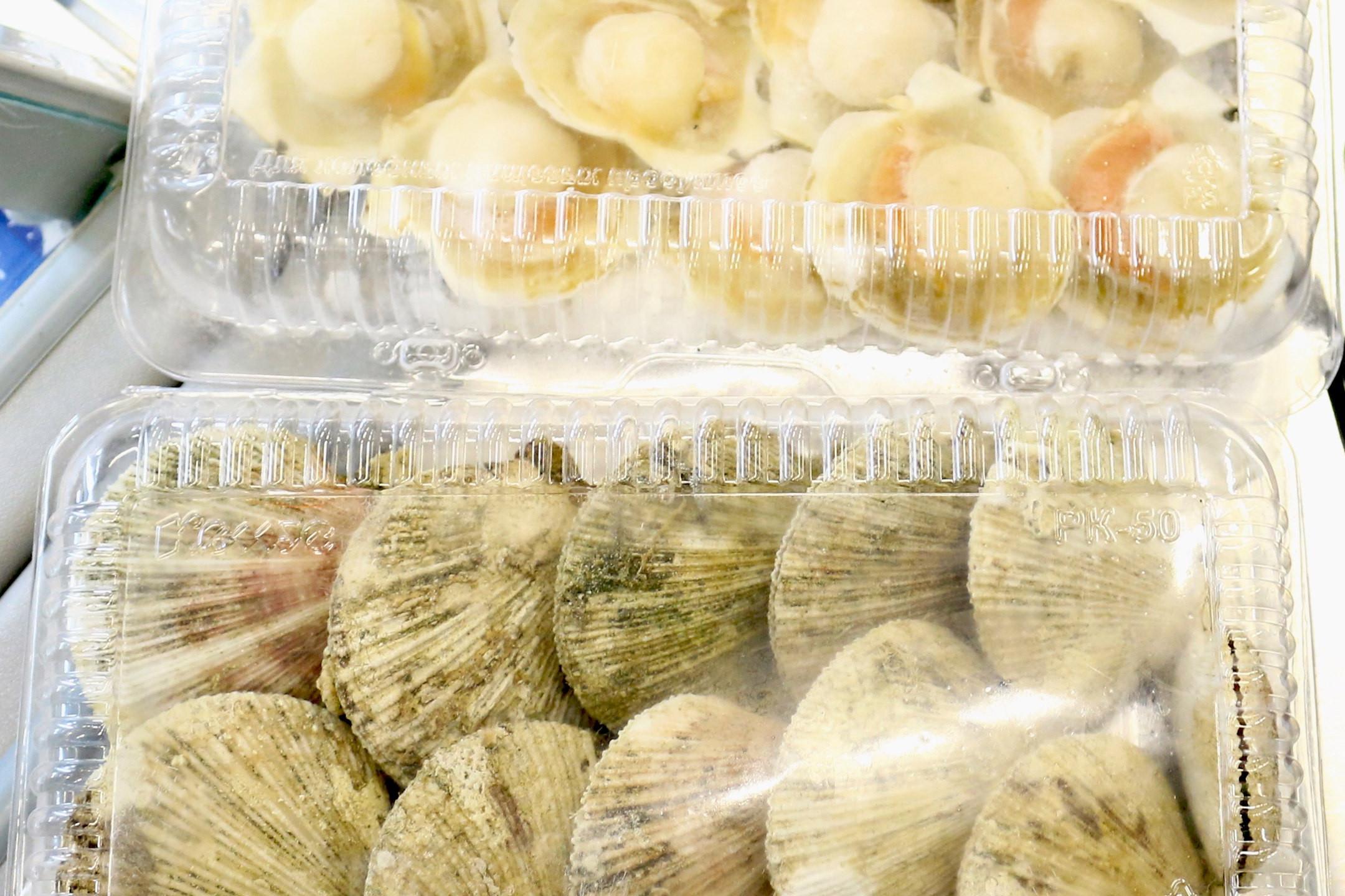 Морепродукты с Экорынка