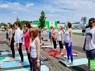 Международный день йоги отметили в Хабаровске
