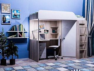 """Кровать-мечта с чердаком и лестницей от салона """"Династия KIDS"""""""