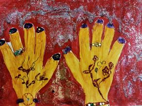 Ich male meine Hände