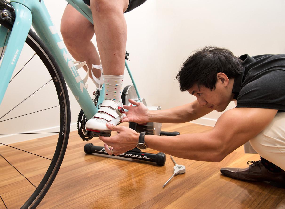 Bike-fitting
