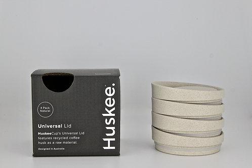 Huskee Universal Lids X 4 (Natural)
