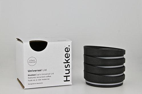 Huskee Universal Lids X 4 (Charcoal)