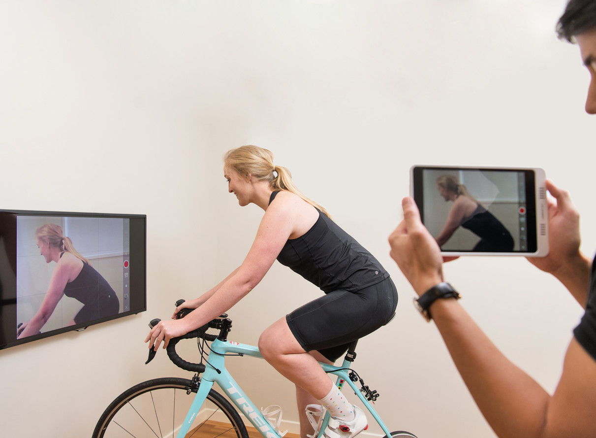 Video Analysis during Bike-fit