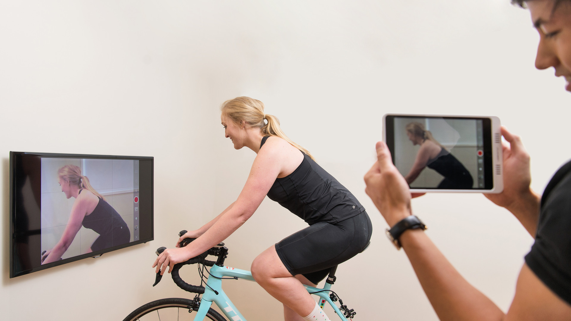 Video Analysis during Bike-fit