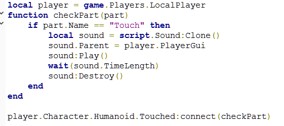 Humanoid Touched Tutorial