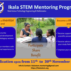 Ikala STEM Mentroging Program announcement