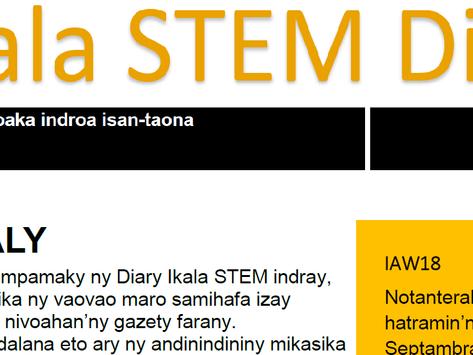 Ikala STEM Diary - November 2018