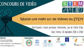 Avis de concours n°3: Concours de vidéo