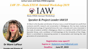 IAW19: Meet the leaders