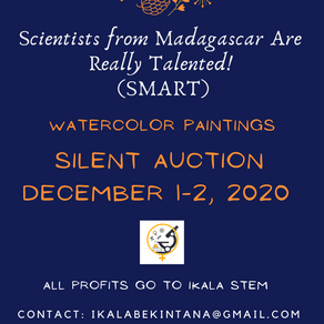 Silent auction: Watercolor paintings