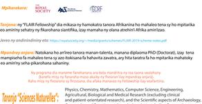 FLAIR Fellowship sy Marie Skłodowska-Curie actions