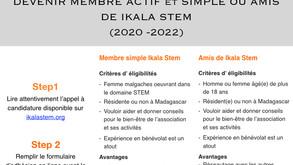 Appel  à candidature pour devenir ami de Ikala STEM