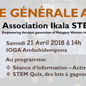 Ikala STEM General Assembly 2018: 21 April