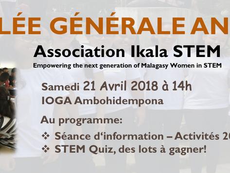 Ikala STEM General Assembly 2018: 21 April