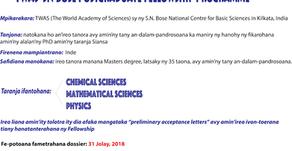 TWAS Fellowships