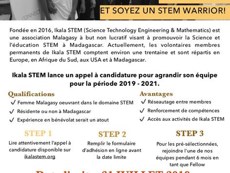 Ikala STEM: appel à candidature