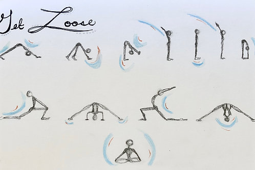 Get Loose: hip and heart opening stretch sequence (original)