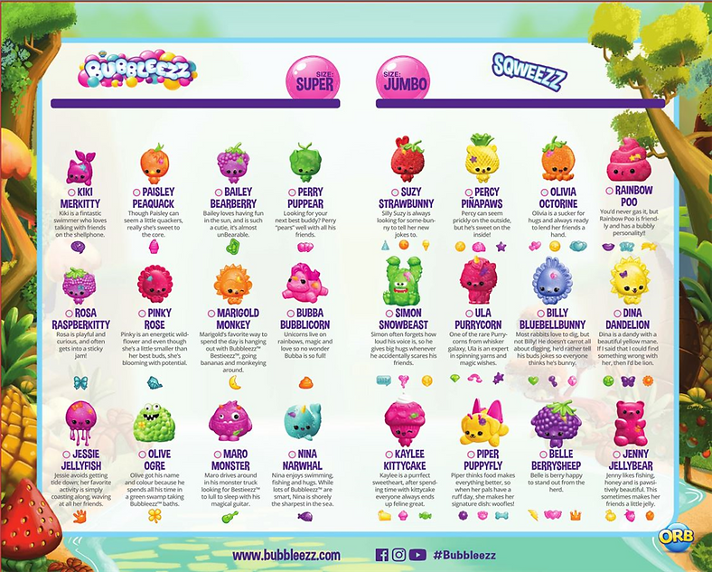 Bambury_Bubbleezz Collectors guide__page