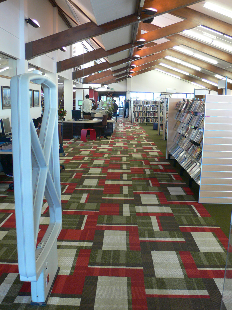 view down library Papatoetoe