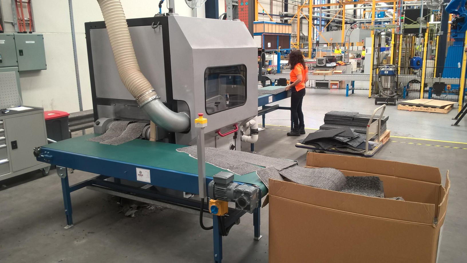 Recycling Plant for carpet