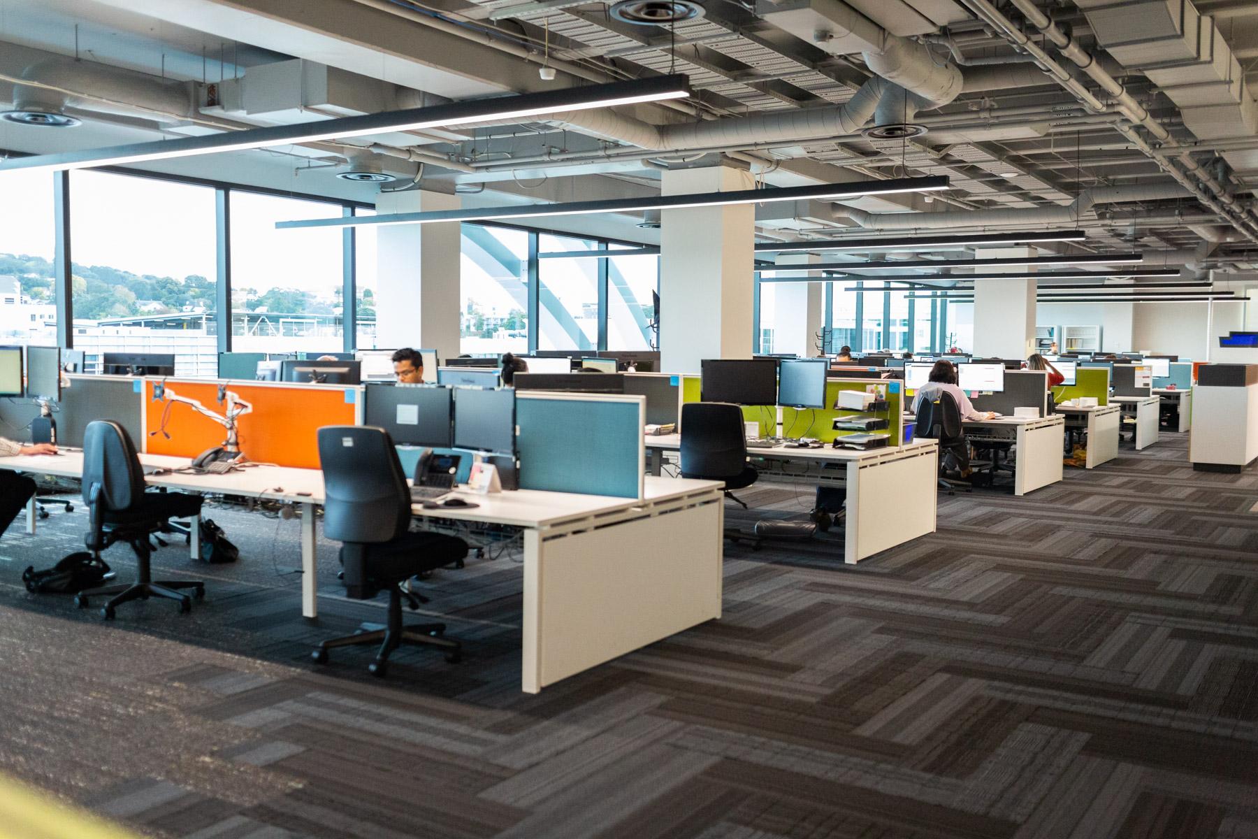 Avanti Finance finished office space