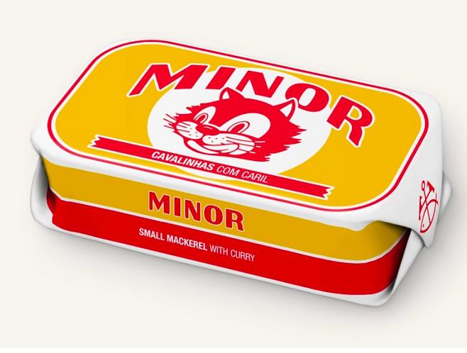 MINOR - babymakreel met curry