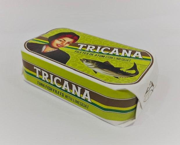 TRICANA - filets van tonijn met dwergcitroen 'limequat'