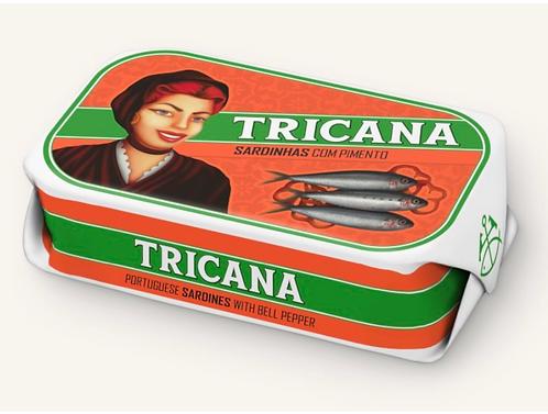 TRICANA - sardines met paprika