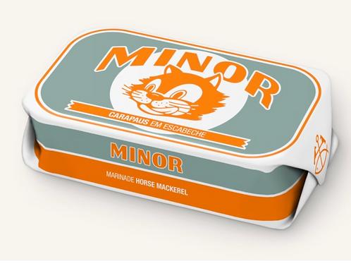 MINOR - horsmakreel in marinade