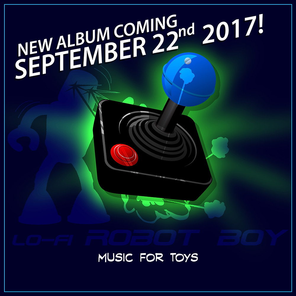 """lo-fi ROBOT Boy """"Music for Toys"""""""