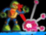;o-fi ROBOT Boy logo