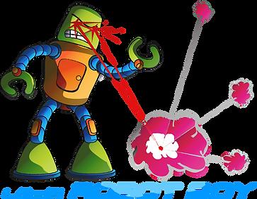 lo-fi ROBOT Boy logo