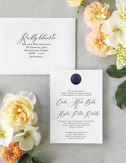 ERICKA WEDDING INVITATION