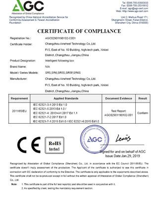 Airwheel_SR5_ROHS_Certificate_2019030610