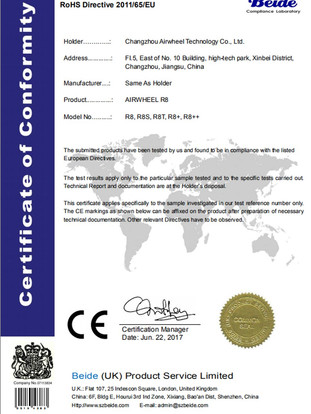 Airwheel_R8_ROHS_Certificate_20180203141