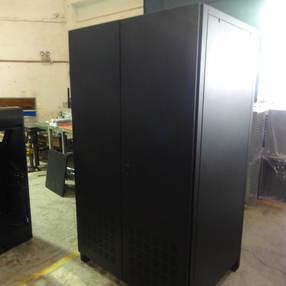 Black Battery Cabinet